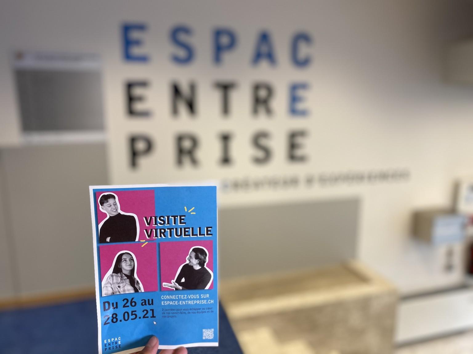 """L'Espace Entreprise organise ses """"Portes Ouvertes"""" sous la forme d'une visite virtuelle"""